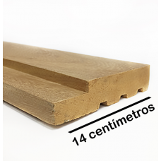 Portal (Aduela) Angelim Pedra Extra 14 cm