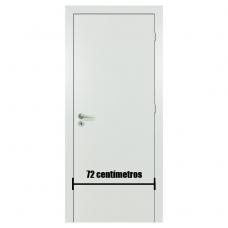 Porta Branca Acabada Melaminico 72cm