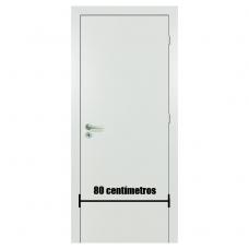 Porta Branca Acabada Melaminico 80 cm