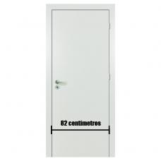 Porta Branca Acabada Melaminico 82 cm